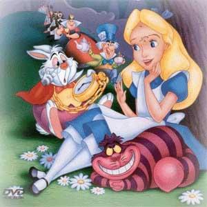 Alicia y otros entrañables personajes del libro y la película de Walt Disney